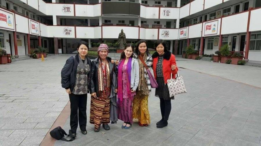 Indah Morgan aktivis buruh migran indonesia
