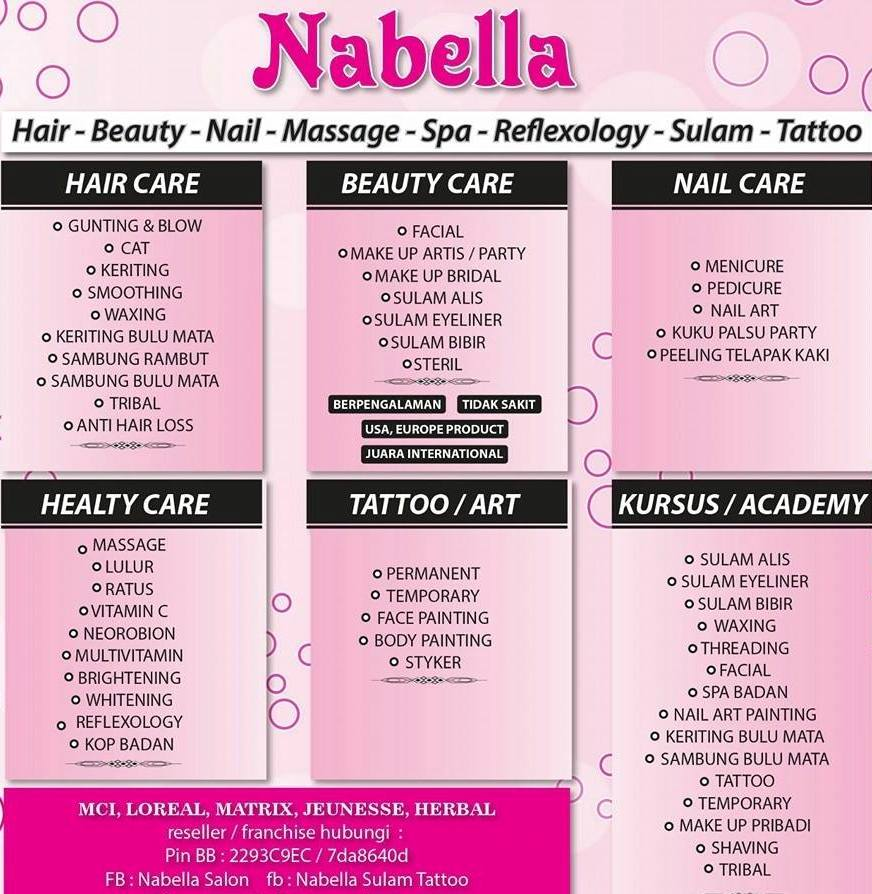 Nabella beauty salon and academy